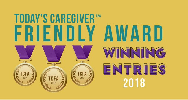 2018 Today's Caregiver Friendly Award Winners