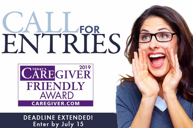 2019 Today's Caregiver Friendly Award