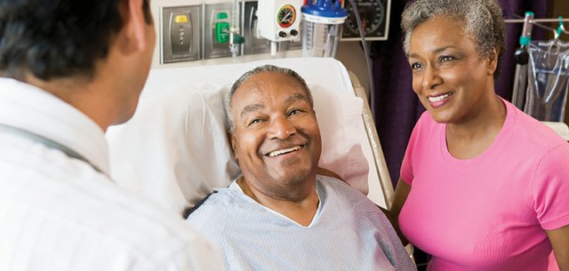 Couple in the Hospital