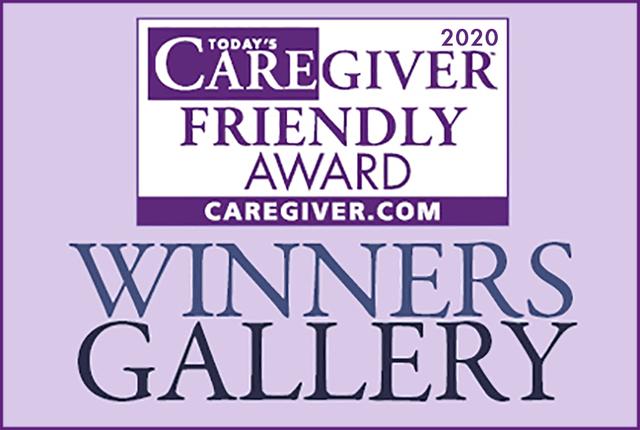 2020 Caregiver Friendly Winners Slider
