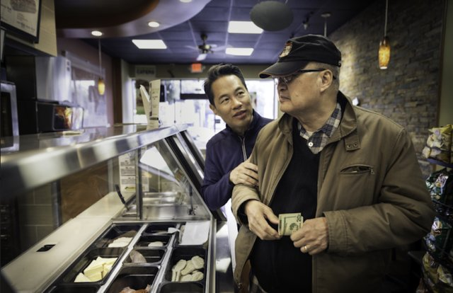 Richard Lui & dad