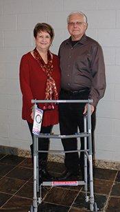 Nancy Moore-Morris and Gary Morris
