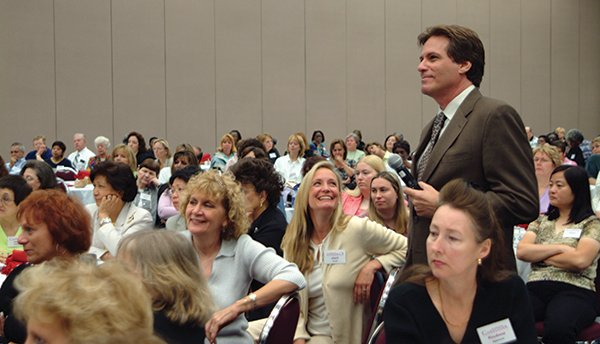 Gary Barg at a Fearless Caregiver Conference