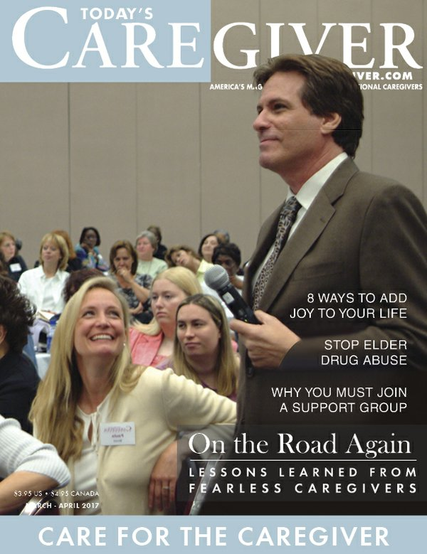 Today's Caregiver magazine March/April Issue - Cover