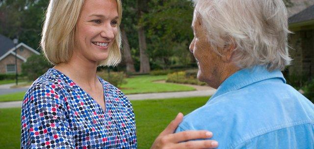 Home Health Aide and Senior
