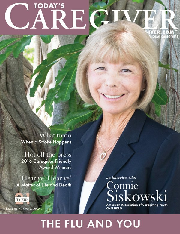 Today's Caregiver magazine September/October Issue - Cover