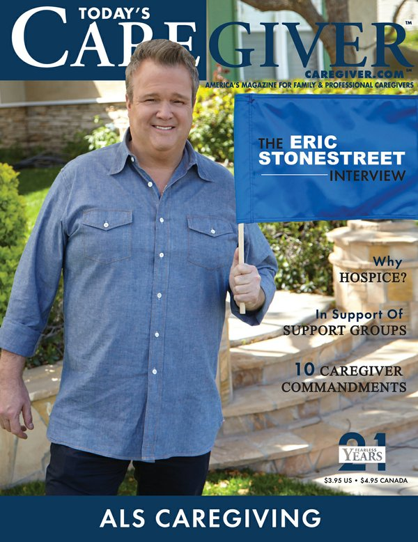 Today's Caregiver magazine July/August Issue - Cover