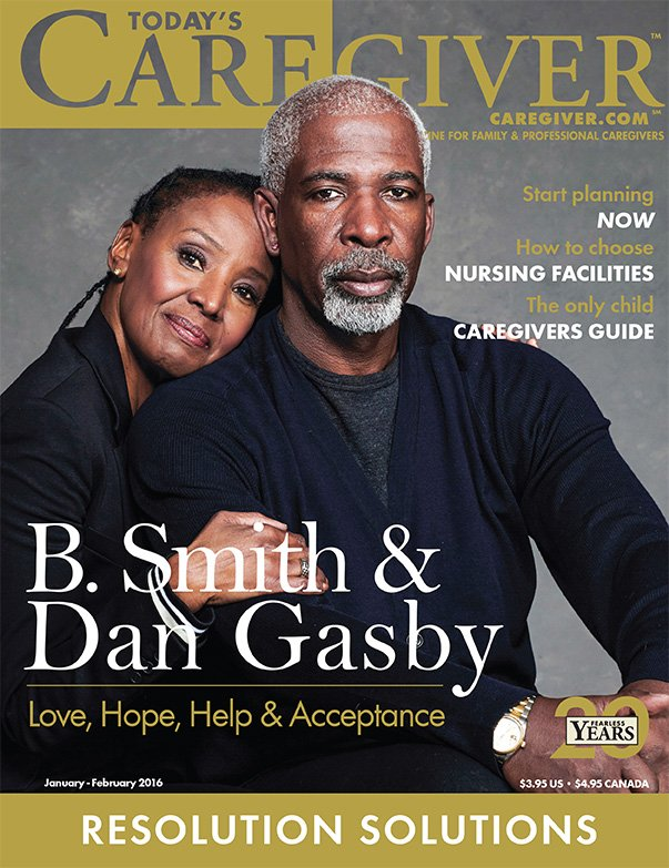 Today's Caregiver magazine Jan/Feb Issue - Cover