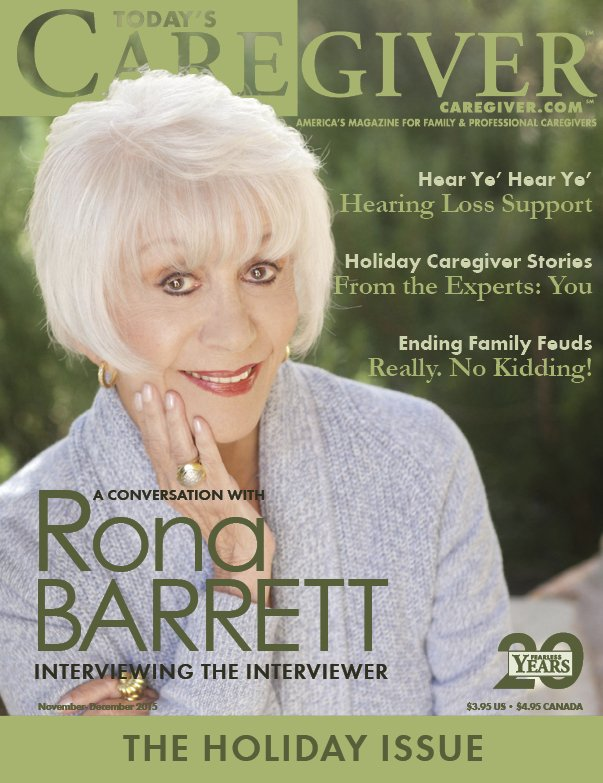 Today's Caregiver magazine November/December Issue - Cover