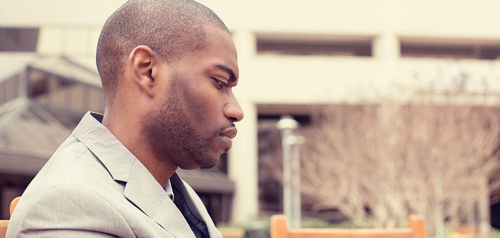 why depressed men leave