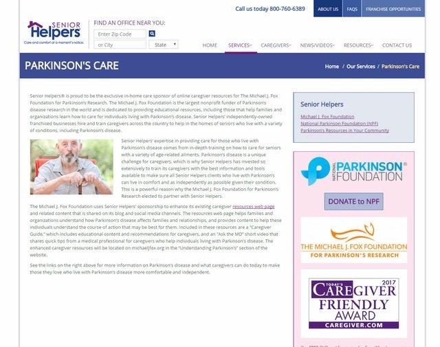 Parkinson's Care Program