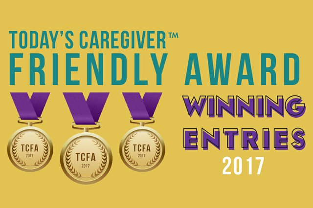 Today's Caregiver Friendly Award Winners