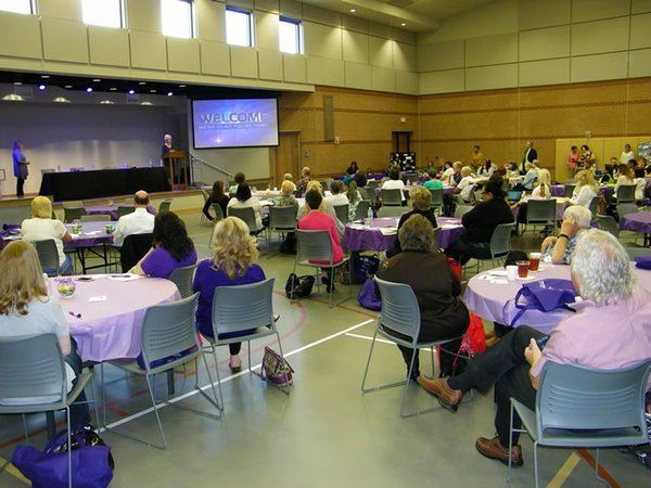 Fearless Caregiver conference attendees listen to Susan Savage, 062217.jpg